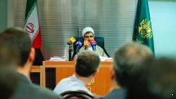 اسفندیار رحیممشایی در جلسه دادگاه- عکس از خبرگزاری میزان