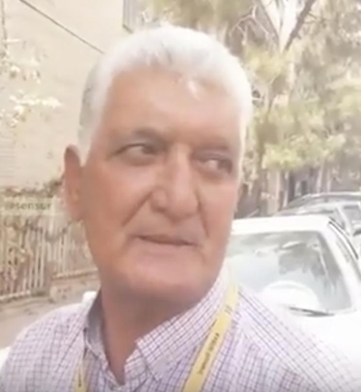 یک هموطن بازنشسته رو به سران رژیم: واسه شما و اطرافیانتون تورم وجود نداره، کمر مردم زیر بار فشار شکسته